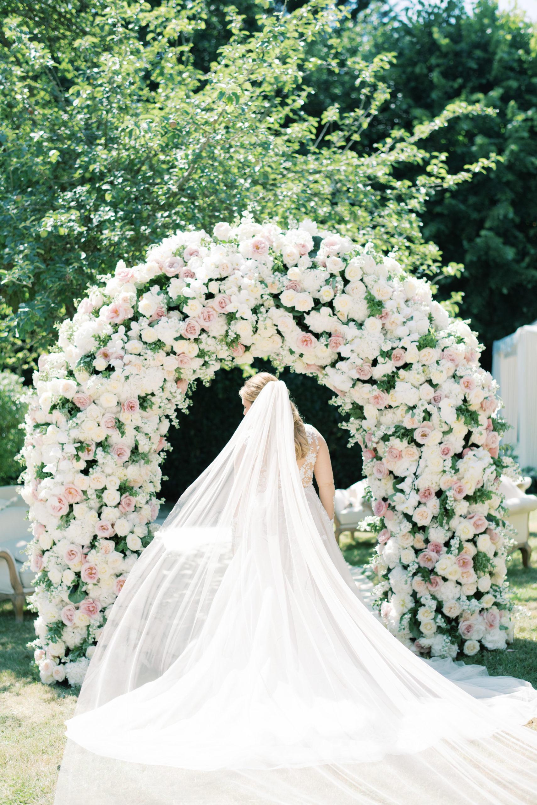 Arch of dreams destination wedding florals