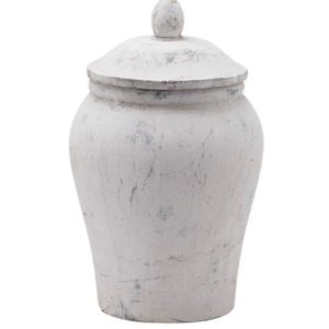 stone ginger jar
