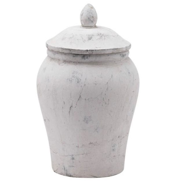 stone ginger jar