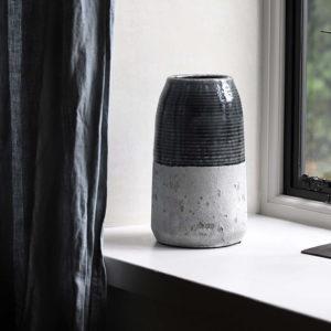 dark grey cement