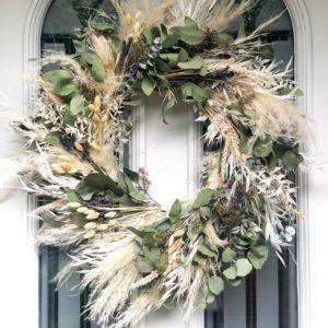 Autumn Pampas Wreath